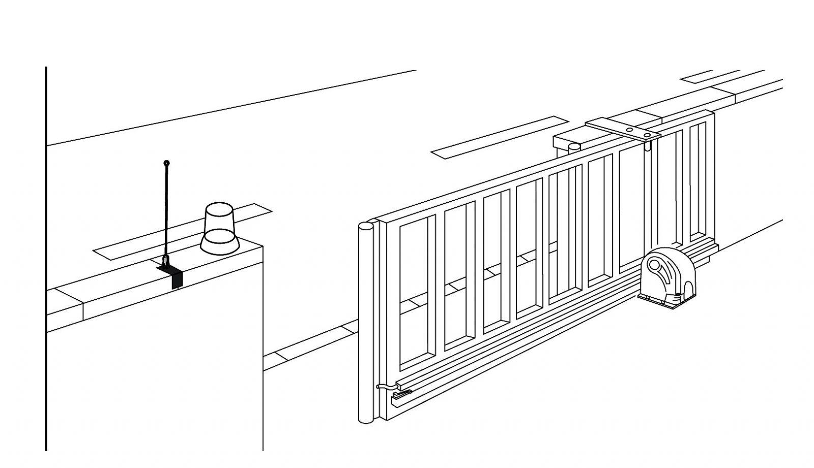 Mô hình lắp đặt cửa